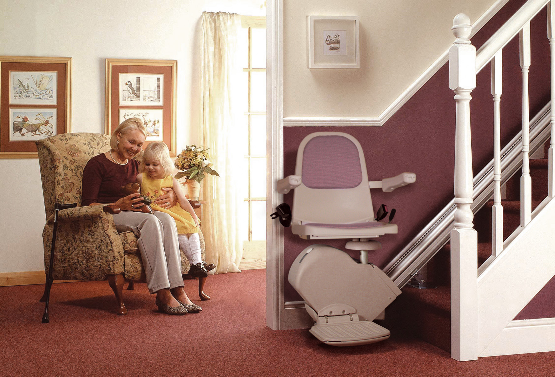An Acorn stair lift lets you save your energy for what really matters.